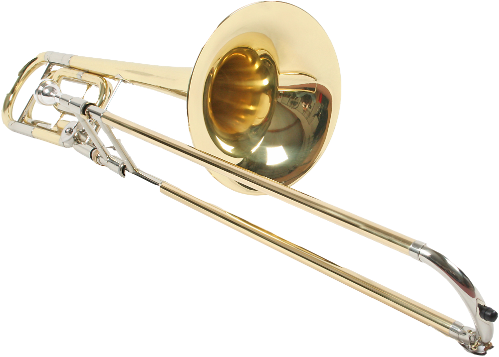 Trombone PNG Image.