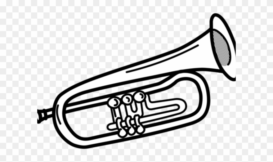 Trombone Clipart Band Instrument.