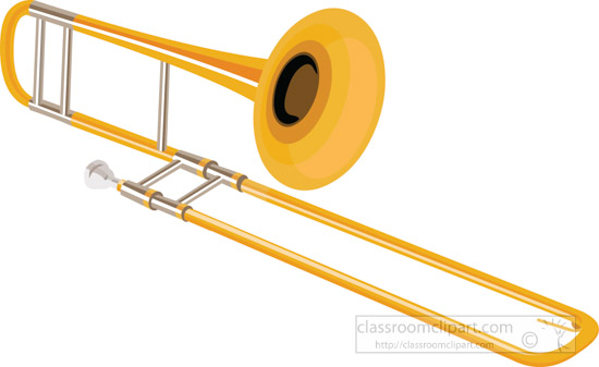 Trombone Clipart Without Background.