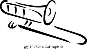 Trombone Clip Art.