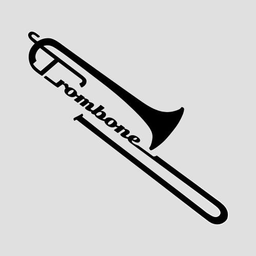 trombone designs clipart Logo The trombone clipart.