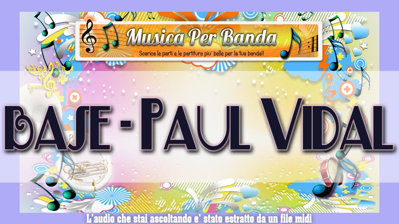 PAUL VIDAL SOLO DE CONCERT.