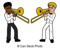 Trombone Stock Illustrations. 915 Trombone clip art images and.