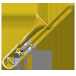 Trombone PNG Transparent Images.