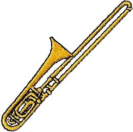 Bass Trombone Clipart.