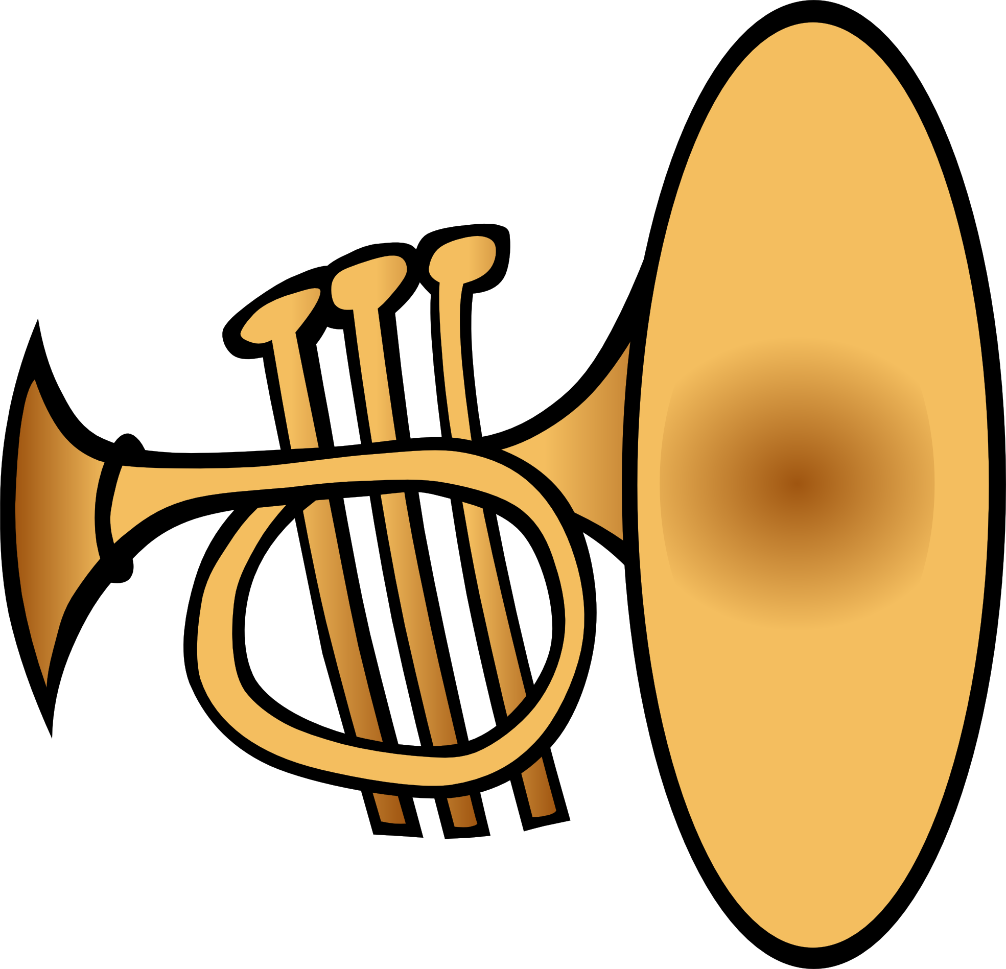 Free Trumpet Images, Download Free Clip Art, Free Clip Art.