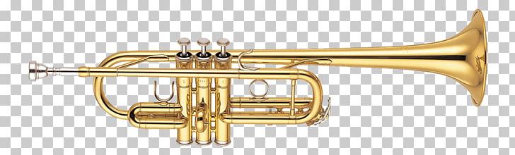 Trompeta de bolsillo instrumentos de latón yamaha.
