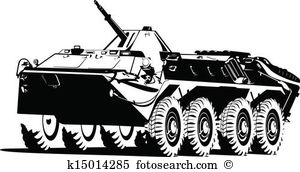 Armored troop carrier Clipart and Illustration. 31 armored troop.