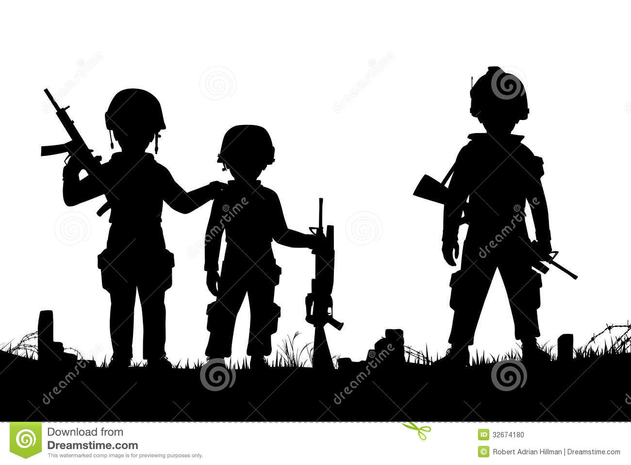 Troops Clip Art.