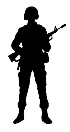 Military troops clipart.