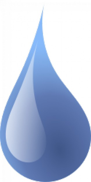 Drop of water Vector.