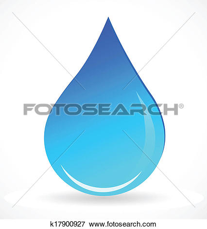Clip Art of Water elements icons k5945257.
