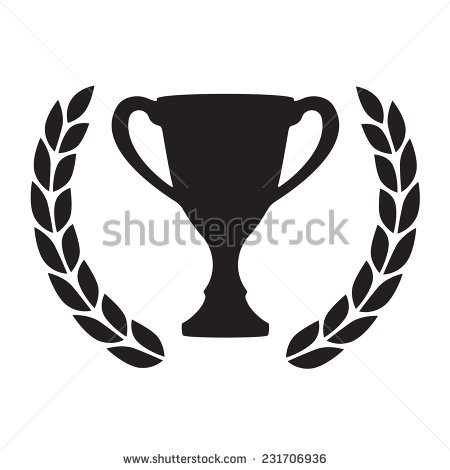 Trophy Cup Stock Images, Royalty.