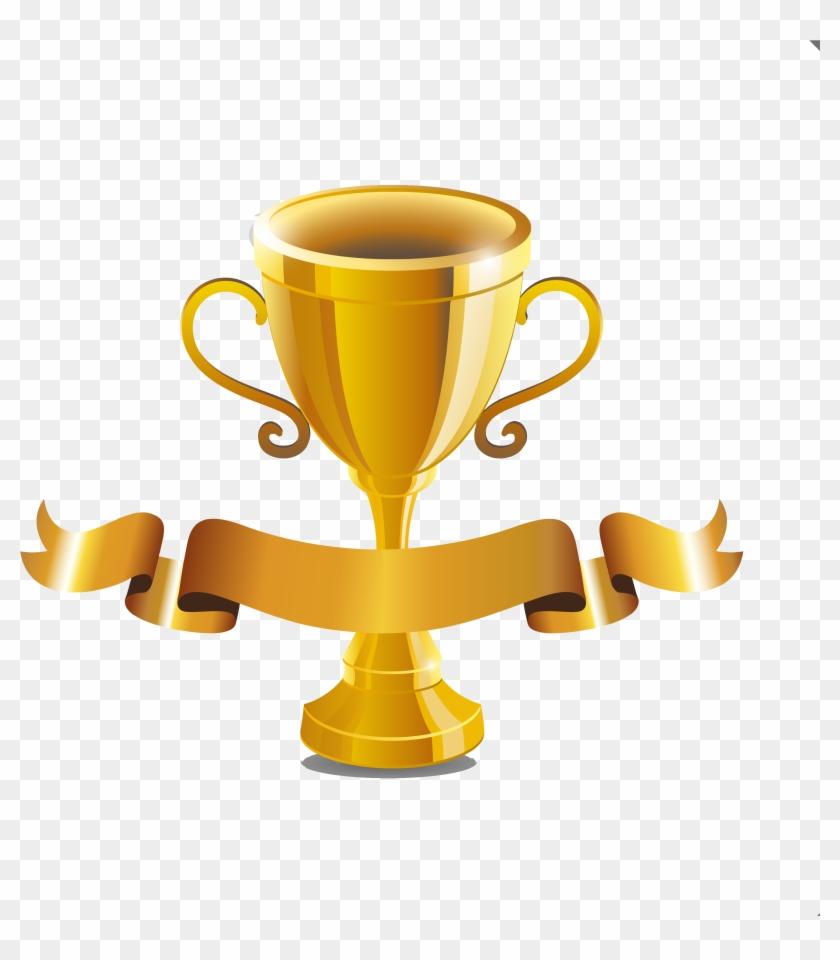 Ribbon Clipart Trophy.