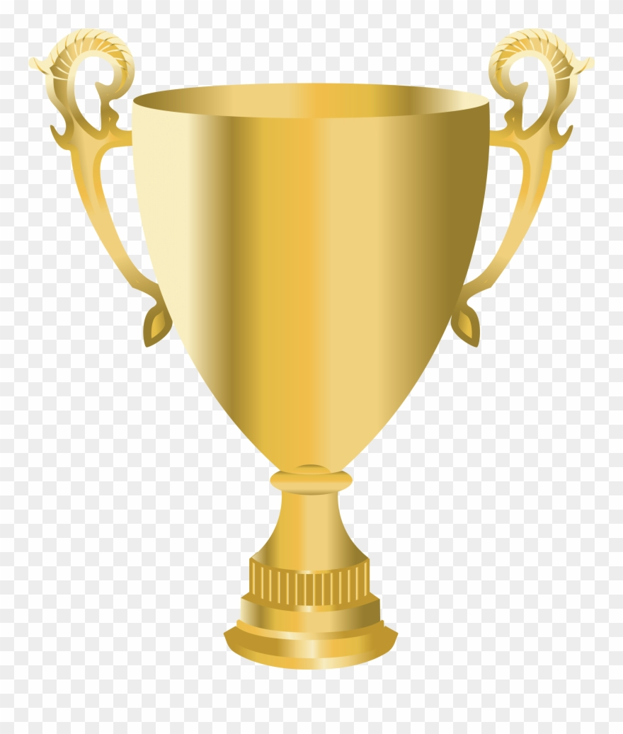 Golden Cup Trophy Png Picture Clipart.