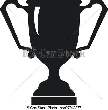 Vector of Vector Modern Trophy Cup Icon.