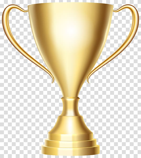 Trophy Icon Gold , Golden cup transparent background PNG.