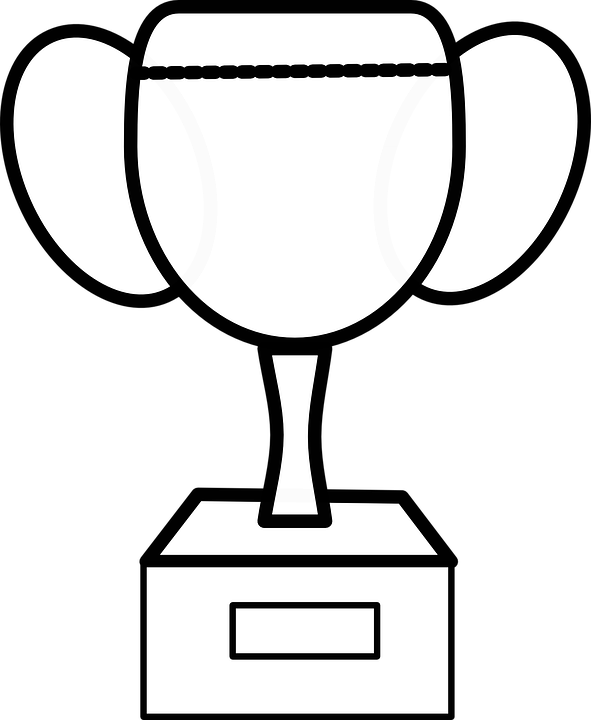 Free vector graphic: Trophy, Cup, Outline, Award, Winner.