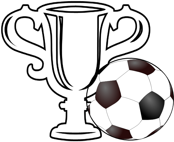 Football Trophy Clipart.
