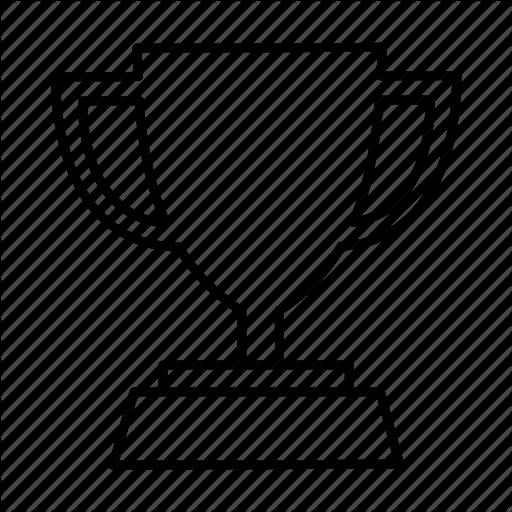 Outline Of Trophy.