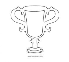 trophy template.