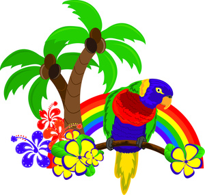 Tropical Clipart.
