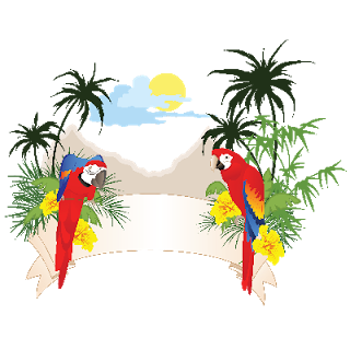 Clipart Tropical Birds.
