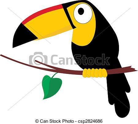 Tropical Bird Clipart.