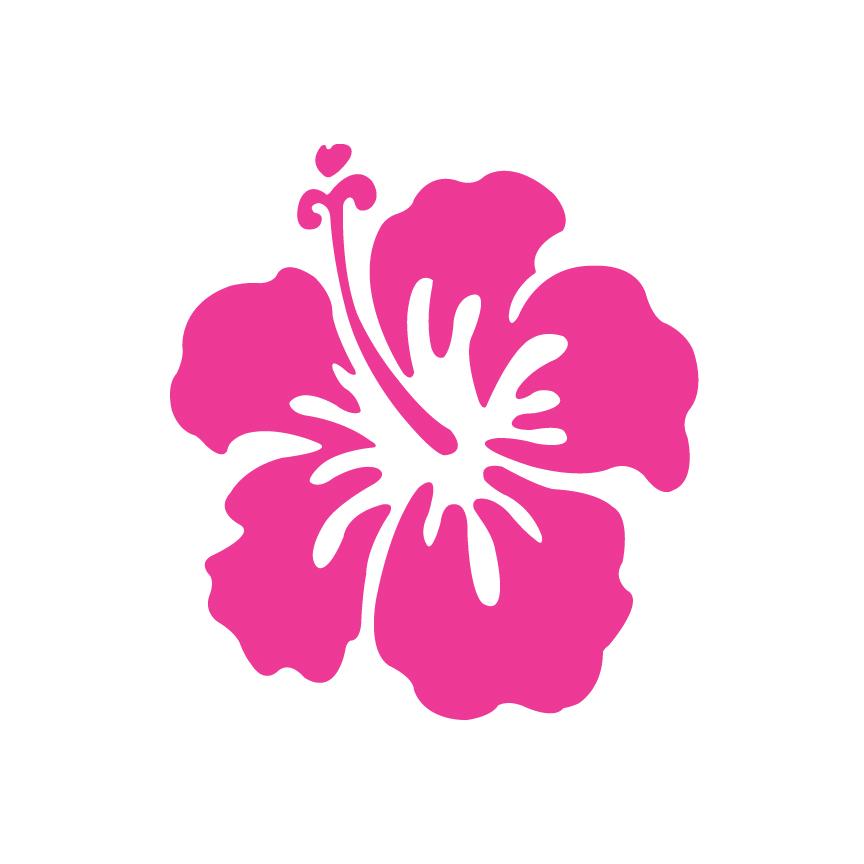 Tropical Cartoon Flowers Clipground