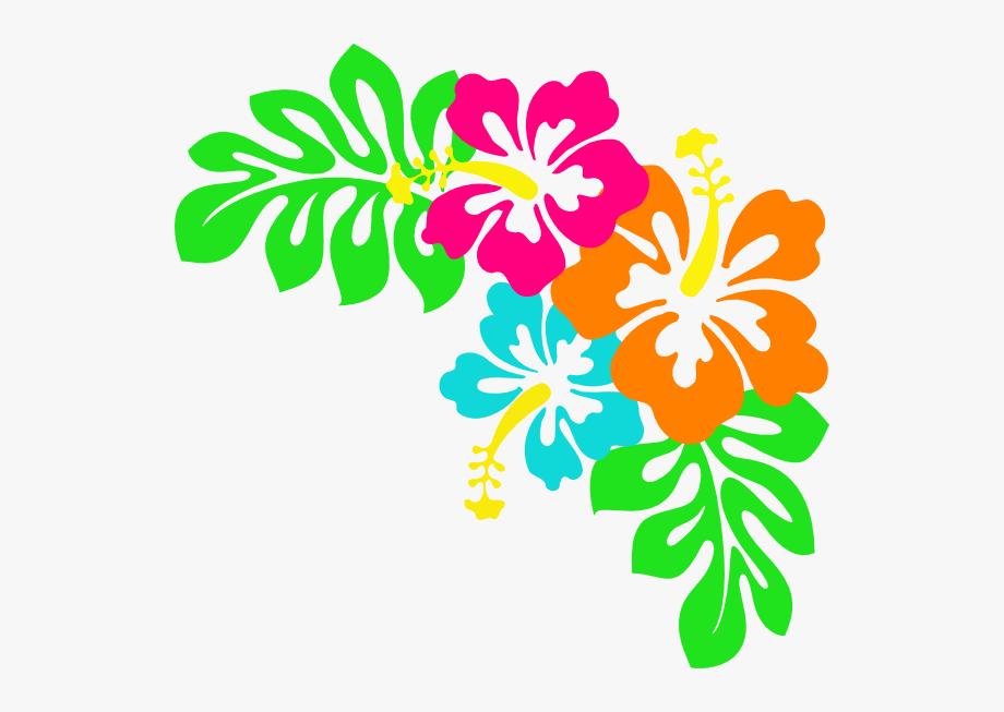 Tropical Leaves Clip Art.