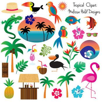 Tropical Clipart.