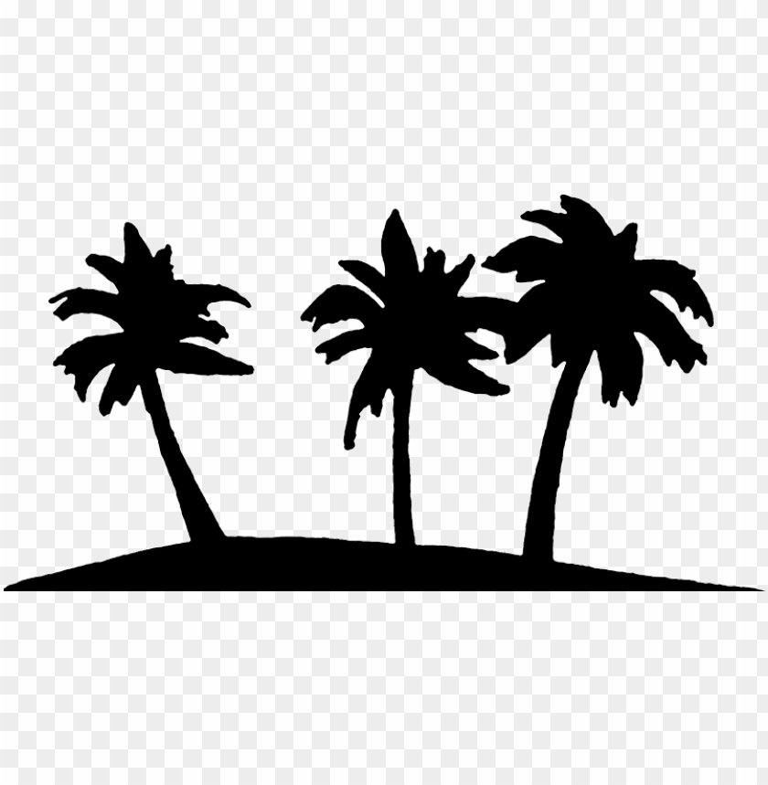 alm tree art tropical palm trees clip clipart.