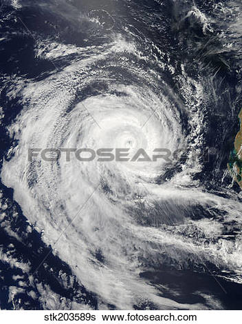 Stock Images of Tropical Cyclone Dianne stk203589s.