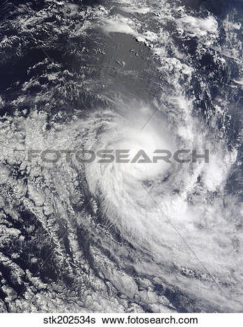 Stock Images of Tropical Cyclone Ilsa stk202534s.