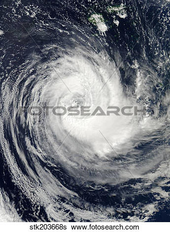 Stock Images of Tropical Cyclone Bune stk203668s.
