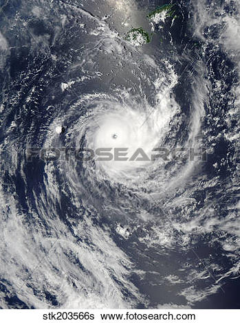 Stock Images of Tropical Cyclone Wilma stk203566s.