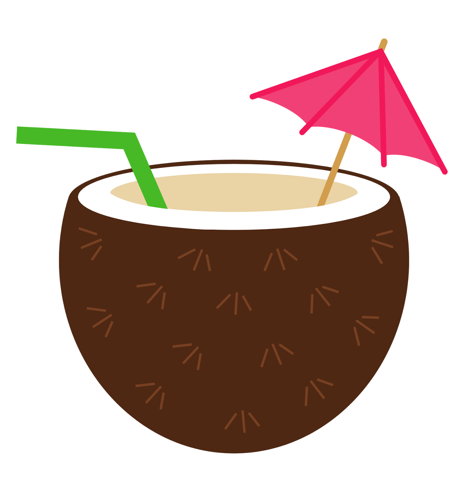Free Tropical Drinks Cliparts.