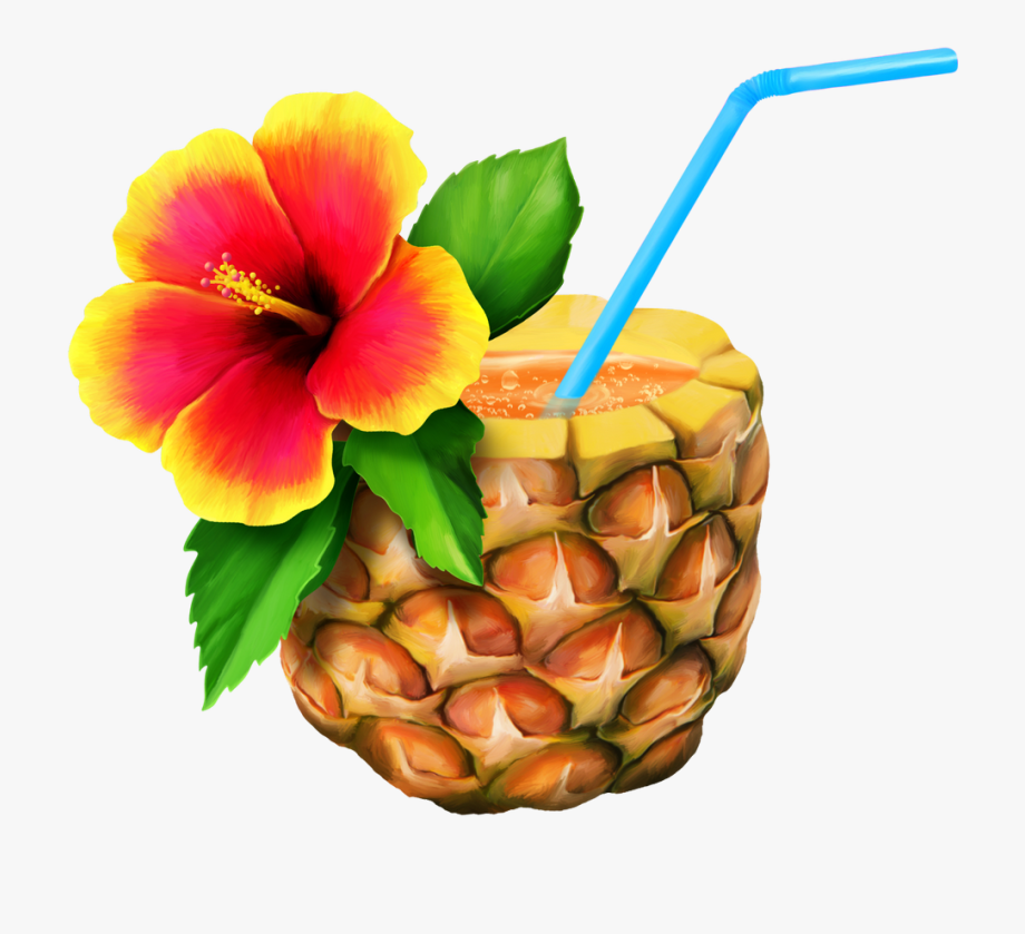 Drinks Clipart Tropical.
