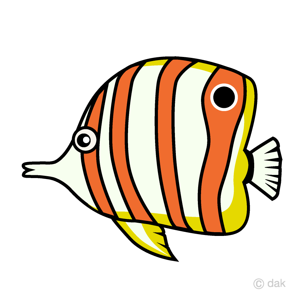 Angelfish Tropical Fish Clipart Free Picture|Illustoon.