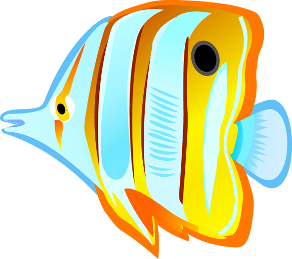 Ocean With Fish Clipart Tropical fish # · clipart.