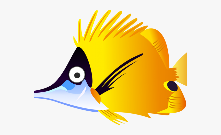 Gold Fish Clipart Tropical Fish.