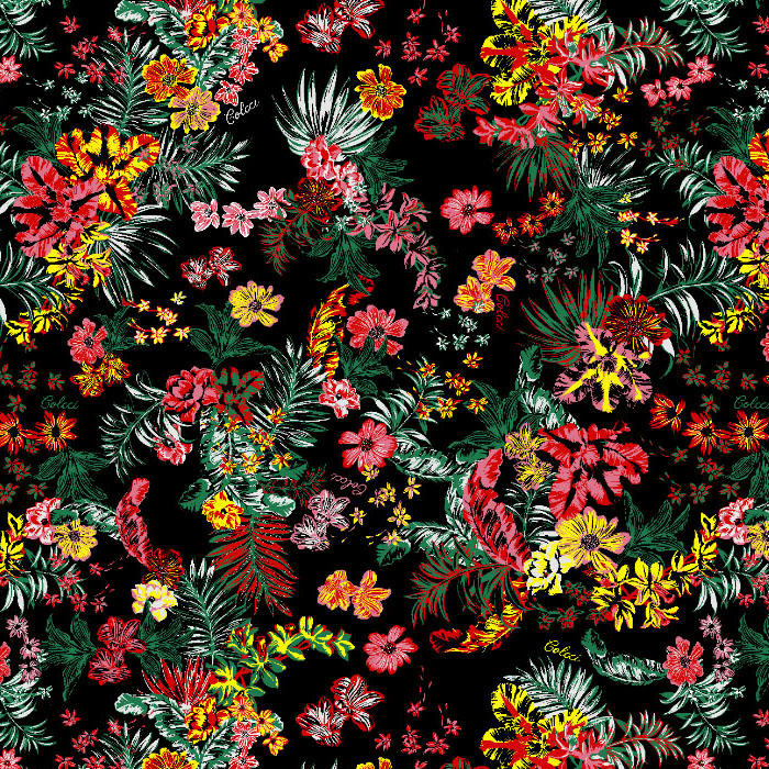 Pattern_ Colcci Tropical Floral.
