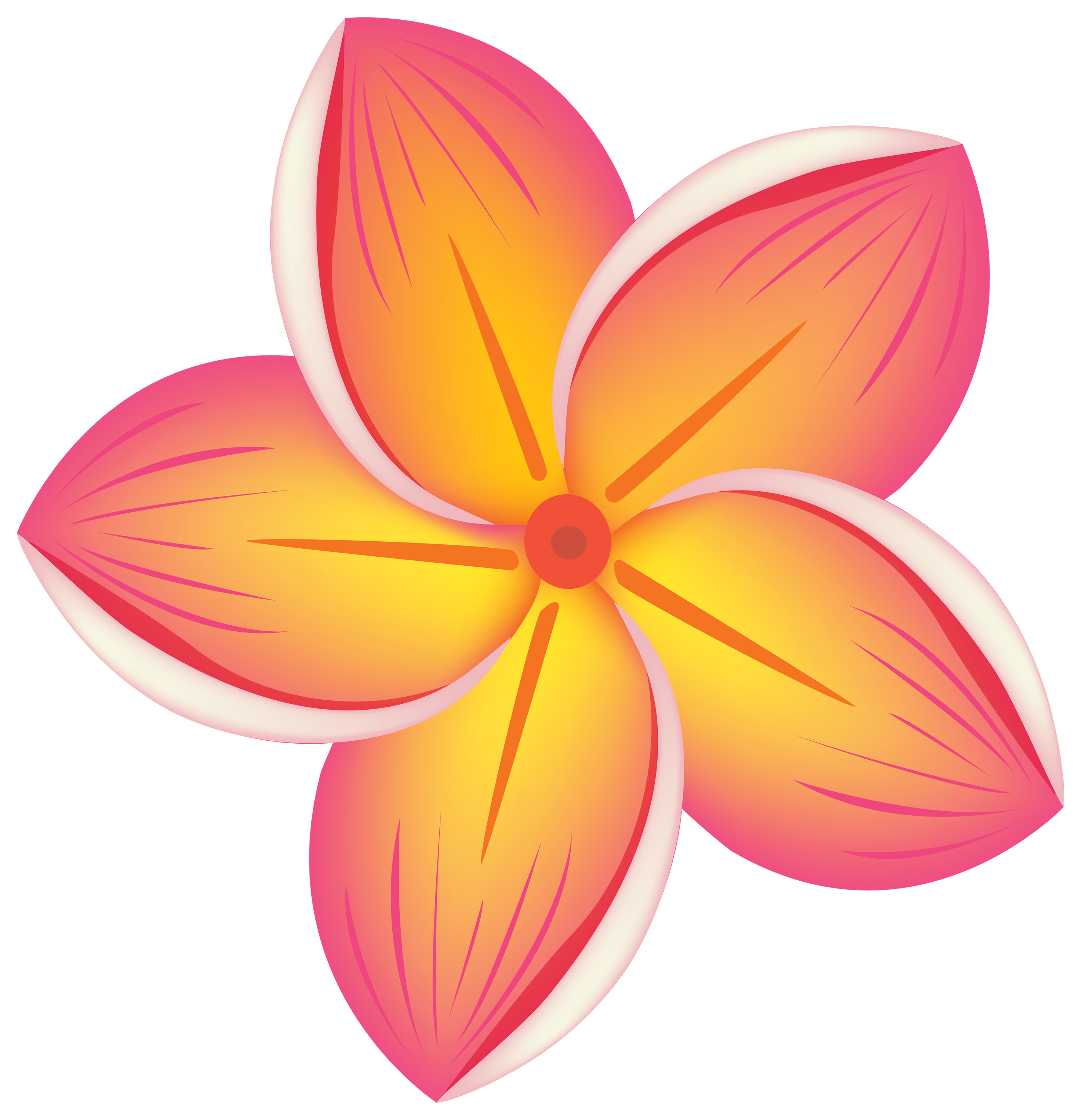 Tropical Flower PNG Clipart.