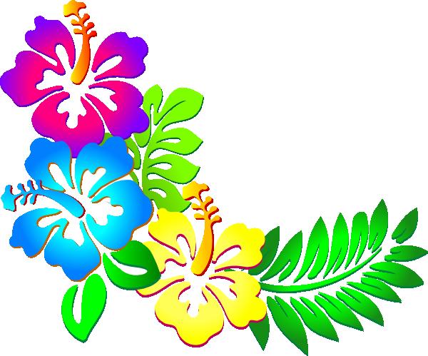 Hibiscus Flower Clip Art.