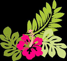 Download tropical flower clip art flowers clip art hawaiian.