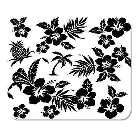 Amazon.com : Suike Mousepad Computer Notepad Office Flower.