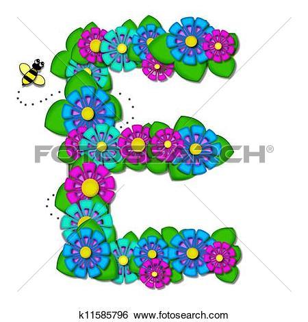 Stock Illustration of Alpha Tropical Garden E k11585796.