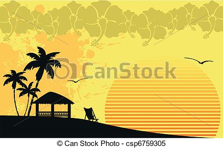 Beach hut Illustrations and Clipart. 490 Beach hut royalty free.