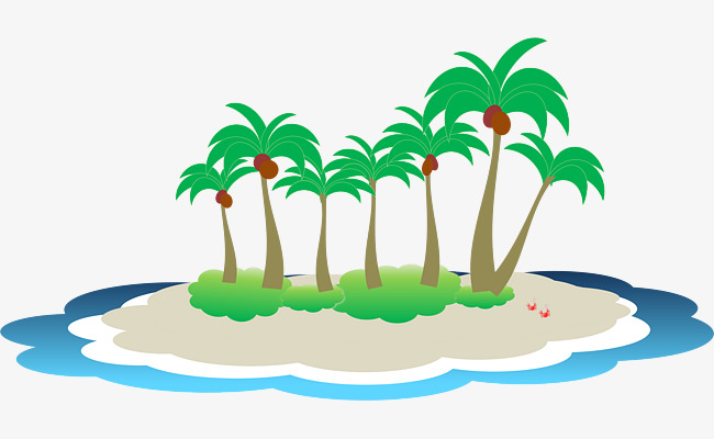 Tropical island clipart 7 » Clipart Station.