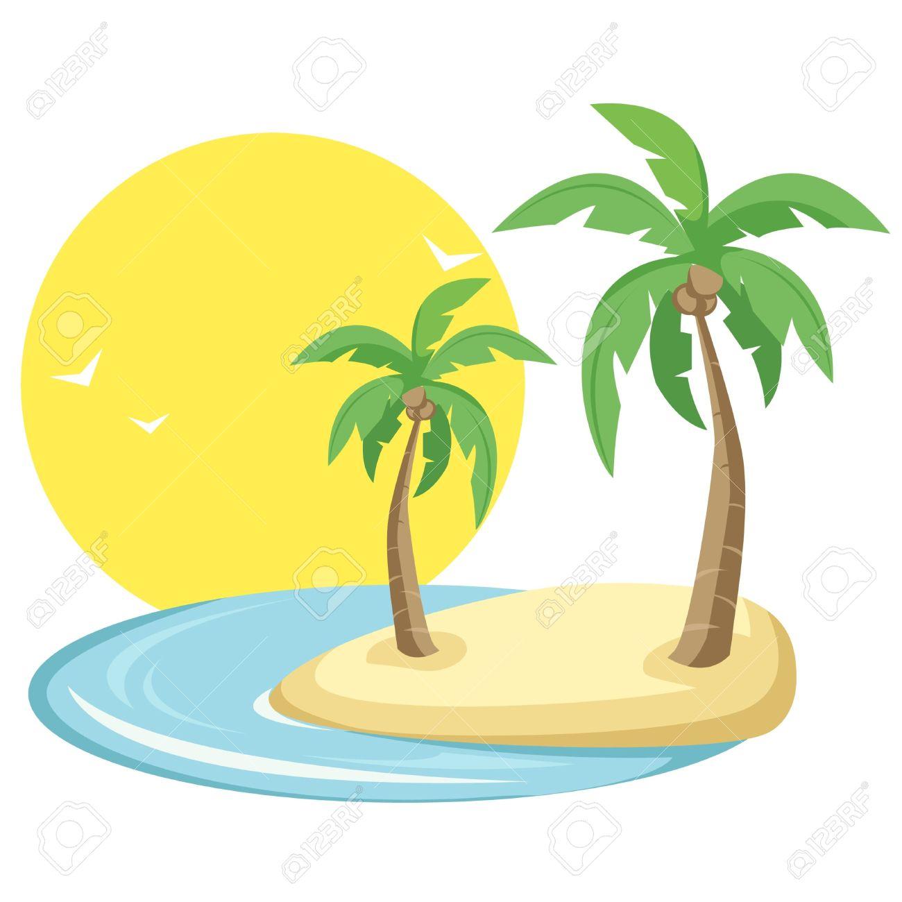 Tropical Island Clipart (65 ).